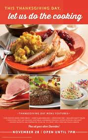 gobble up a tasty thanksgiving feast and leave the cooking to s