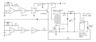 wiring schematic diagram mosfet irf510 capacitor discharge