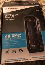 arris modem lights sb6121 motorola arris surfboard modem sb6121 computer equipment in los