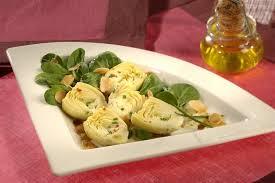 cuisiner coeur d artichaut recette de salade cœurs d artichauts et amandes grillées la