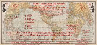 Canadian Pacific Railway Map Collection Persuasive Maps Pj Mode Collection Cornell