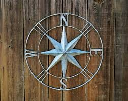 wood compass wall compass wall etsy