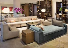 wood fabric hotel sofa set high back couch chair for lobby