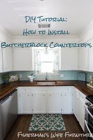 so many great tips this really has a lot of points that everyone fisherman s wife furniture brian and kaylor diy tutorial how to install butcher block countertops