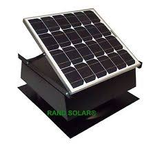 solar attic fan ebay