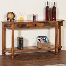 Hallway Table With Drawers Captivating Hallway Table Furniture Design With Rustic Sofa Table