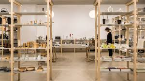 shop architecture and interior design dezeen jasper morrison creates house like layout for tokyo s good design store