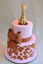 giraffe cake sweet pink giraffe cake s sweet cakes pinteres