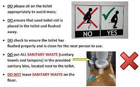 Scottish Bathroom Signs The Toilets Esl Resources