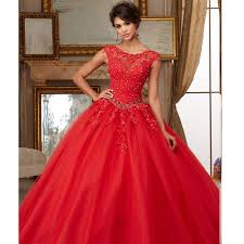 dresses for sweet 15 organza lace beaded appliques gown coral cinderella