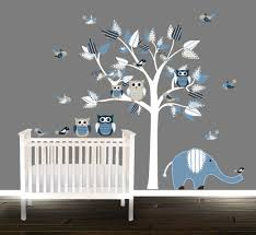 Stickers Arbre Blanc by