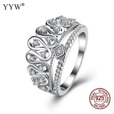 sted rings aliexpress buy luxury genuine 925 sterling silver ring for