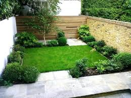 garden design ideas for small front yards and wooden chairs as