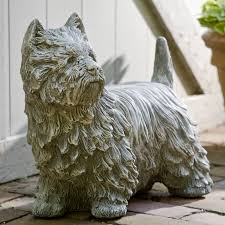 westie garden statue compare prices at nextag