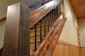 Wooden Stair Banisters Wood Stair Treads Risers Railings Enterprise Wood Products