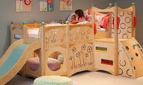 Impressive Bunk Beds For Kids With Superb Attractiveness Of Slide - Girls bunk beds with slide