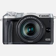 canon eos m6 ef m 18 150mm is stm objektiv silber in wlan