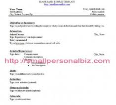 Resume Student No Work Experience How To Write A High Resume With No Work Experience