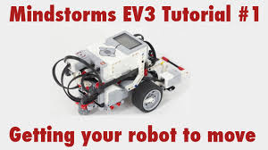 lego ev3 tutorial video mindstorms ev3 tutorial 1 getting your robot to move youtube