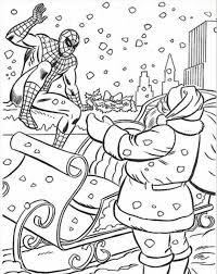 spiderman coloring pages spiderman coloring pages christmas