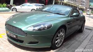 green aston martin db11 appletree green aston martin db9 volante walkaround youtube