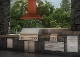 outdoor range hoods u2014 zline kitchen