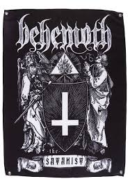 Avenged Sevenfold Flag Behemoth The Satanist Flag Offizieller Death Metal