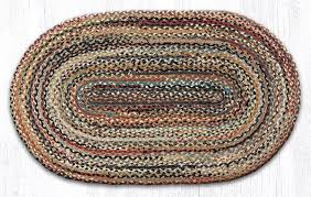 braided rug earth rugs c 999 random colors 100 jute braided rug