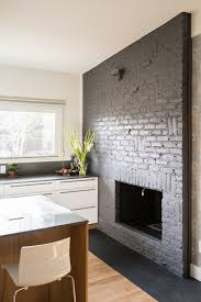 white painted brick kitchen amazing unique shaped home design