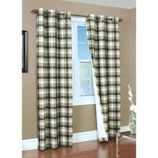 Brown Gingham Curtains Curtain 97 Fearsome Gingham Curtains Images Design