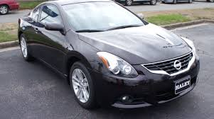 nissan altima coupe review 2008 2013 nissan altima 2 5s coupe walkaround start up tour and