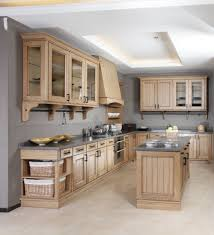 marvelous solid wood kitchen cabinets as modern or country style