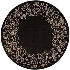Oval Outdoor Rugs Round Water Resistant Outdoor Rugs Rugs The Home Depot