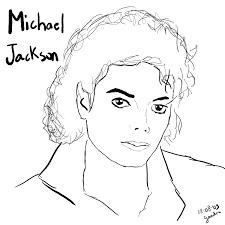 desenhos para colorir do michael jackson michael jackson and