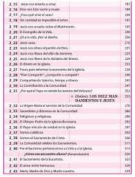 Resultado De Imagen Para Lista De Padrinos Para Catecumenado Catequesis Parroquial