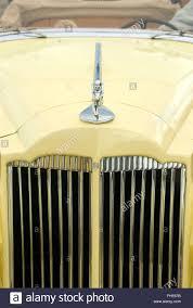 1936 packard 120b convertible sedan detail ornament goddess