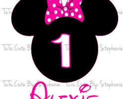 minnie mouse 1st birthday minnie mouse 1st birthday clip clipart panda free clipart