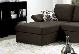 Black Fabric Sectional Sofas Black Fabric Sectional Sofa Bed Set With Adjustable Arm Rests