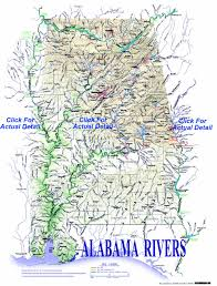 Map Of Tennessee River by Alabama Rivers And Creeks Map Rivers And Creeks Of Alabama