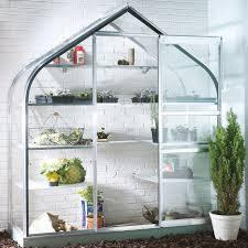 Mythos Silverline Greenhouse Palram Harmony 6x6 Polycarbonate Greenhouse Departments Diy At B U0026q