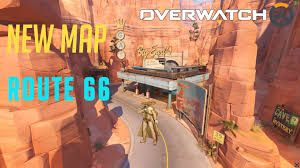 Route 66 Map by Overwatch Route 66 New Map Reaper Gameplay Youtube