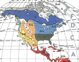 america climate zones map file trewartha climate map of central and america jpg