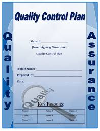 Quality Assurance Excel Template Quality Plan Template Microsoft Word Templates