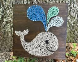 whale string art etsy