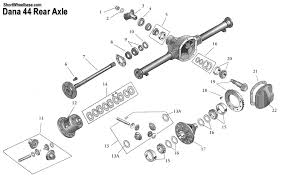 1996 jeep grand rear differential differential