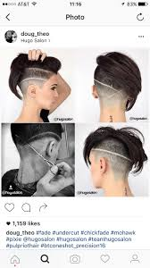 fades and shave hairstyle for women pin by marissa hope on hairstyles other things pinterest