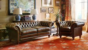 Chesterfield Sofa Usa Sofa Linen Sofa Top Grain Leather Chesterfield Sofa