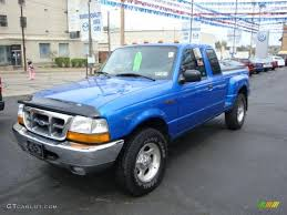 2000 ford ranger extended cab 4x4 2000 bright atlantic blue metallic ford ranger xlt supercab 4x4