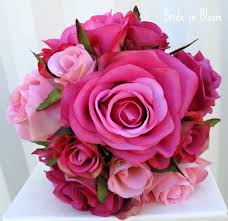 rose bridal bouquets wedding bouquet pink rose bridesmaid