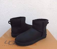 s ugg australia mini leather boots ugg australia langton black leather boots us 9 eu 40 last pair ebay